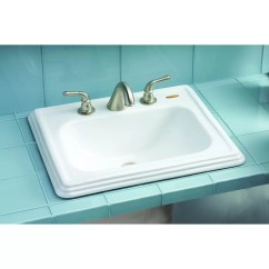 Ada Compliant Kitchen Sink Quartz Countertops Toto Promenade Self Rimming Bathroom And Reviews Wayfair
