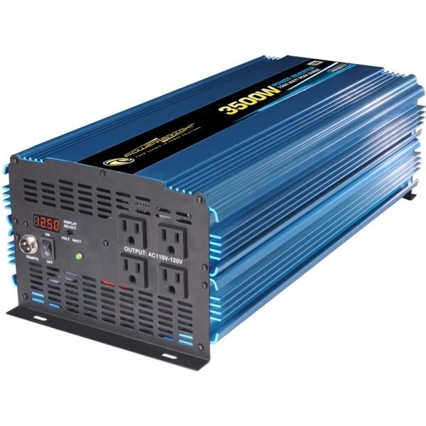 Power Bright 12v Dc 110v Ac 3500w Inverter &