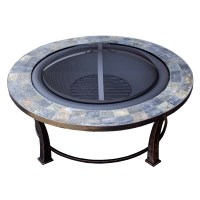 AZ Patio Heaters Wood Burning Fire Pit & Reviews
