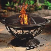 AZ Patio Heaters Wood Burning Fire Pit & Reviews | Wayfair