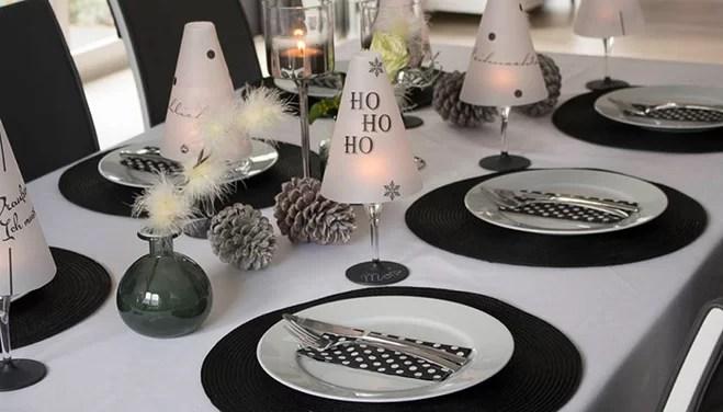 DekoIdee Weihnachten in Schwarz  Wei  Wayfairde