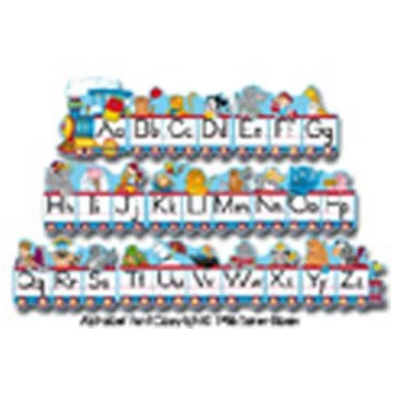 Alphabet Train Zaner Bloser Letters Wayfair