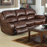 Mt. Washington Leather Reclining Sofa   Wayfair