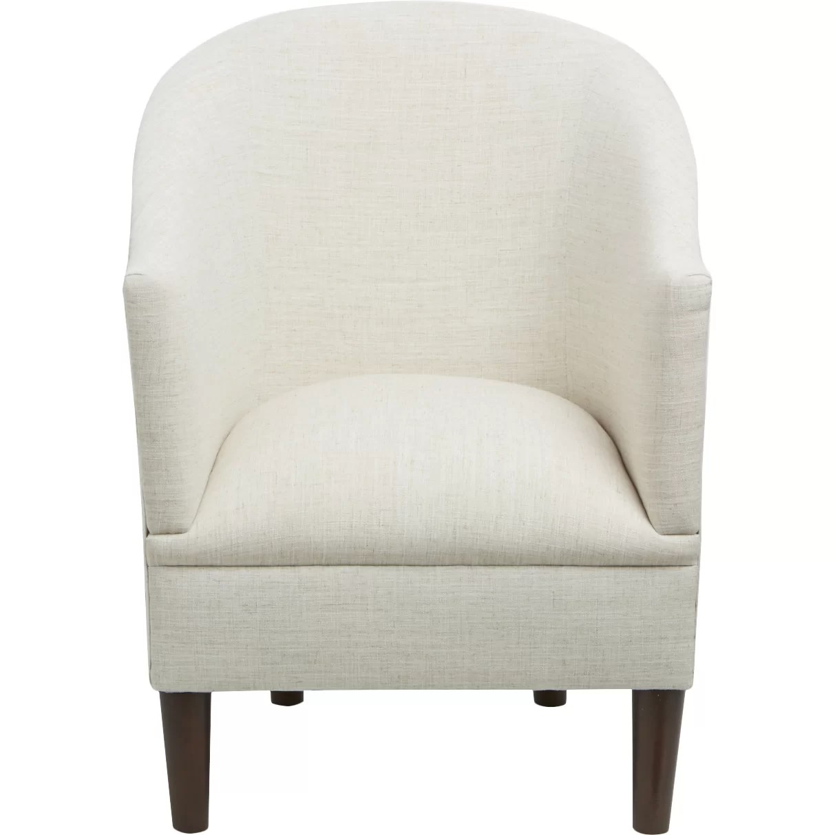 skyline furniture accent chairs white tufted office chair linen arm and reviews wayfair