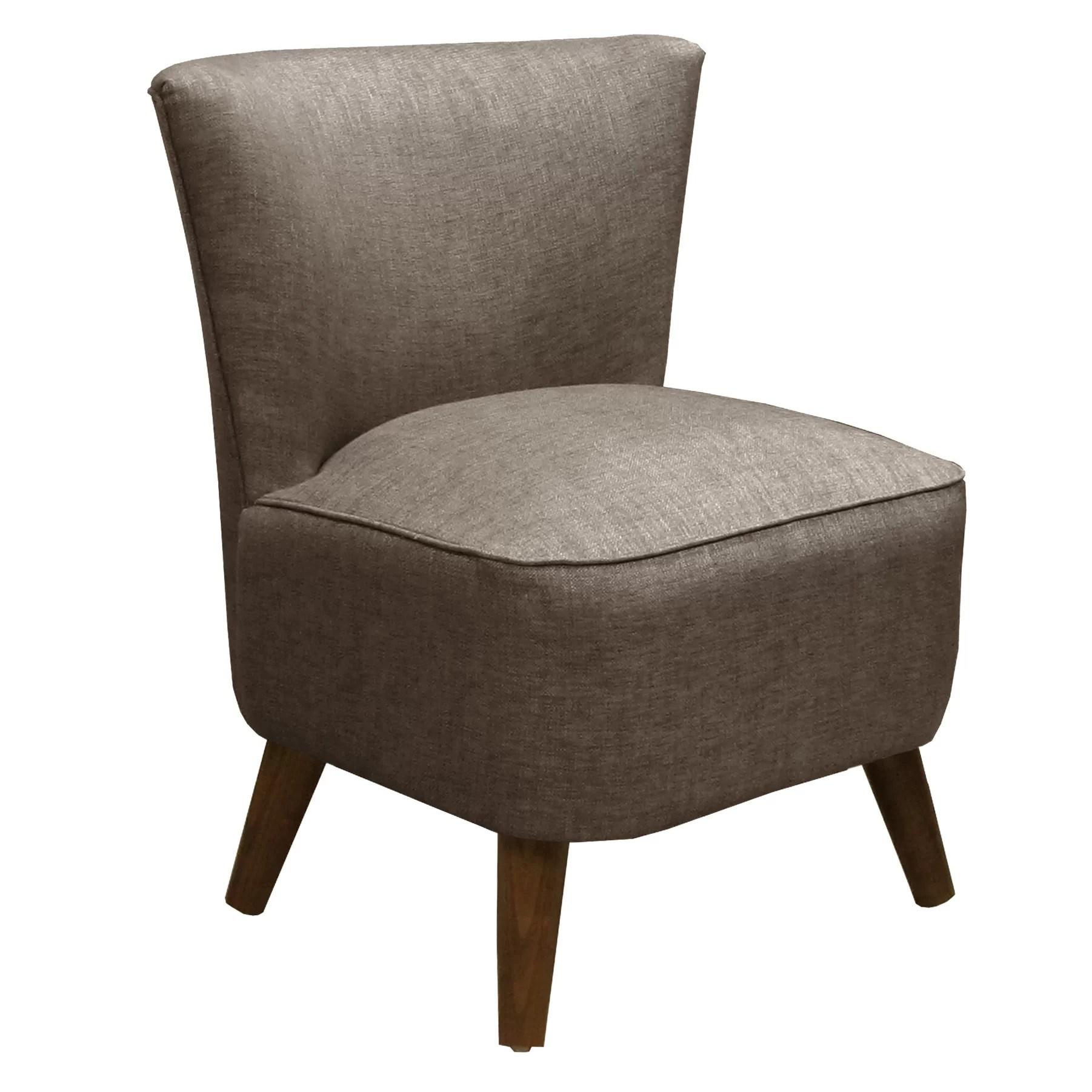 Skyline Furniture Groupie Mid Century Fabric Slipper Chair