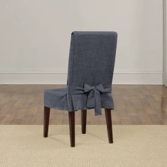 Chair Covers For Dining Chairs Stretch Recliner Shorty Slipcover Wayfair