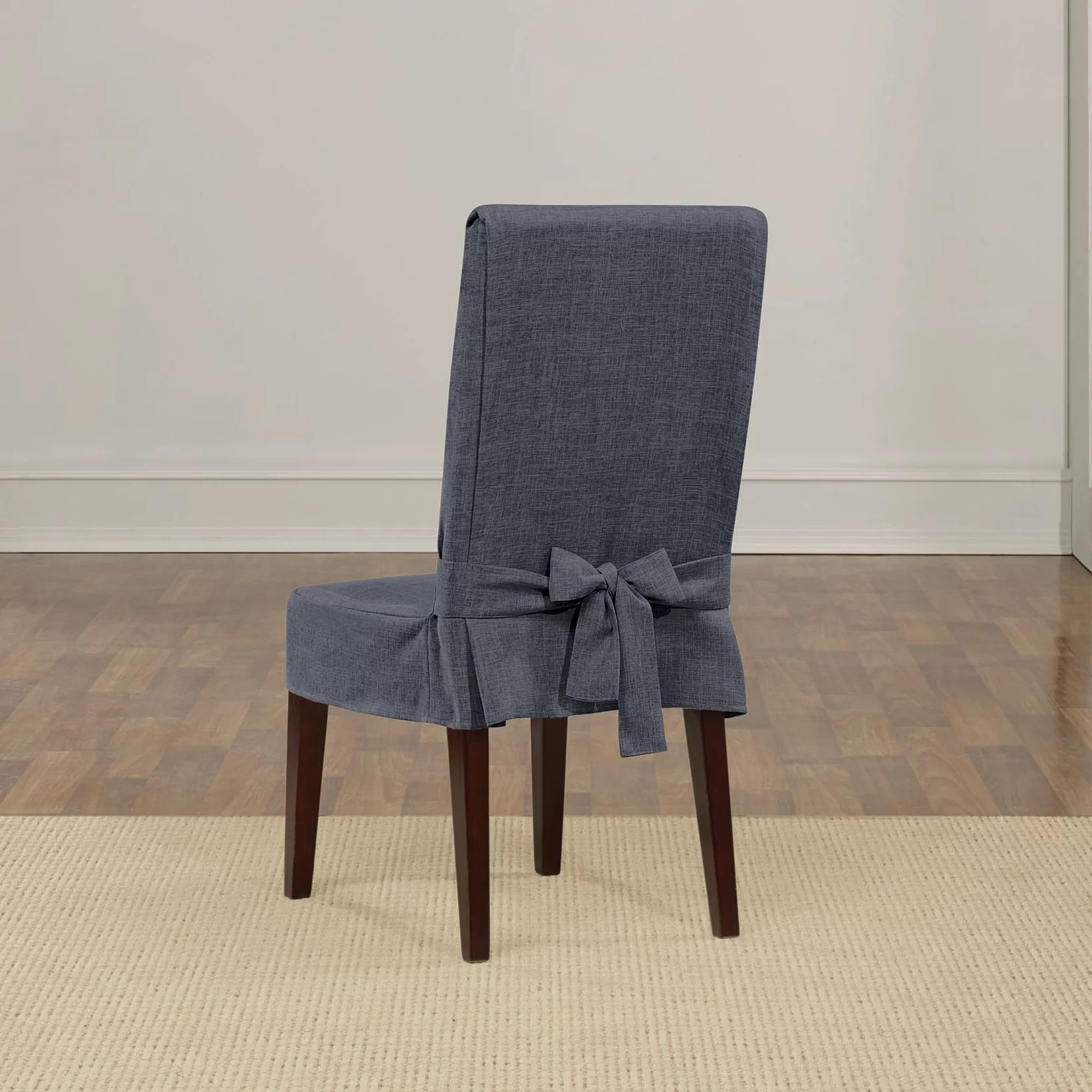Slip Cover Chairs Shorty Dining Chair Slipcover Wayfair