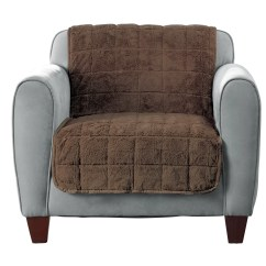Faux Fur Chair Cover Ergonomic Pakistan Quilted Armchair Slipcover Wayfair