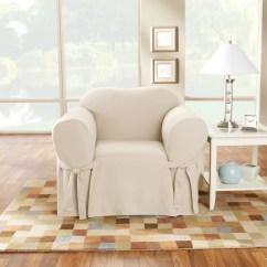 Club Chair Slipcover Director Chairs For Sale Cotton Duck Box Cushion Arm Wayfair