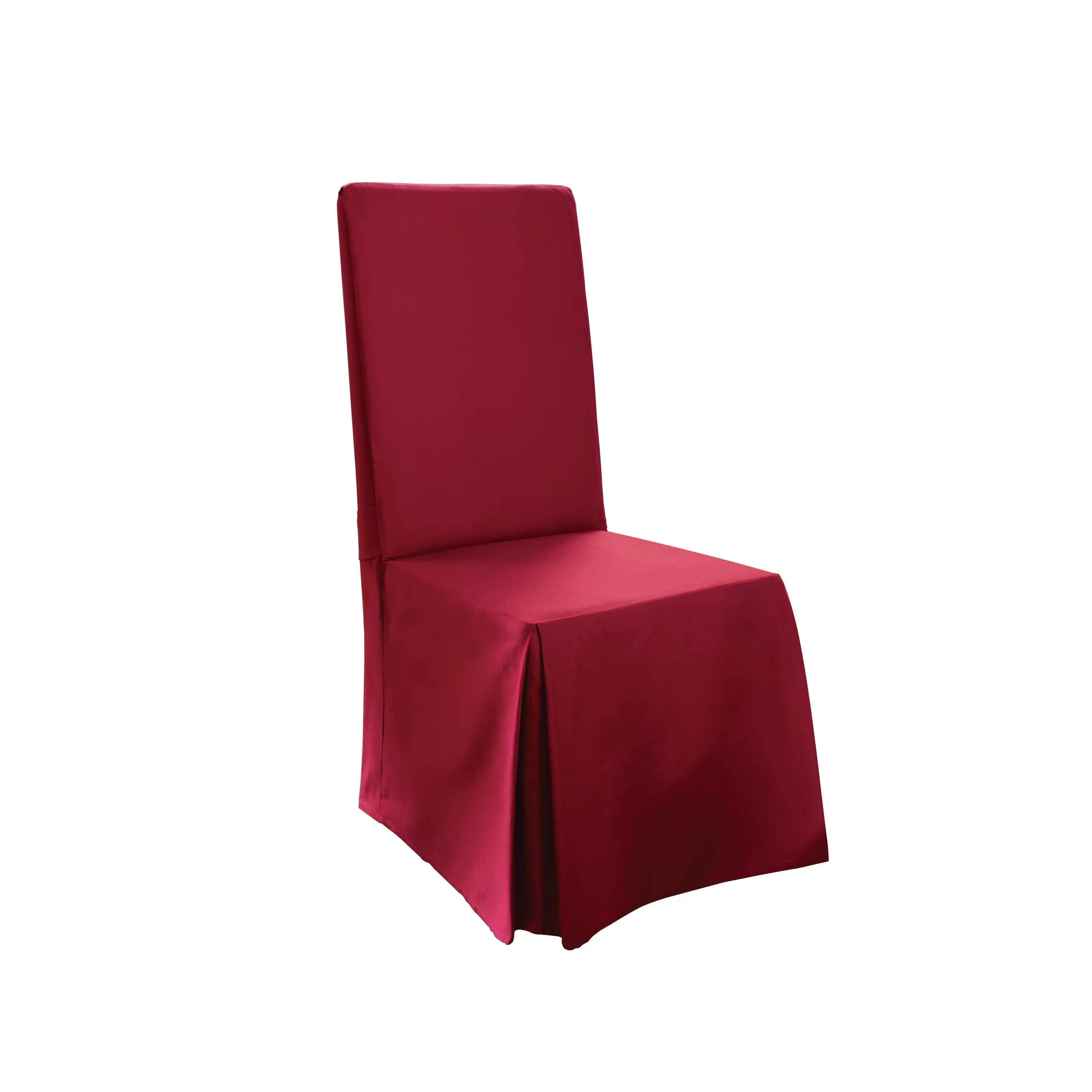 sure fit parsons chair slipcovers school desks and chairs cotton duck long slipcover reviews wayfair