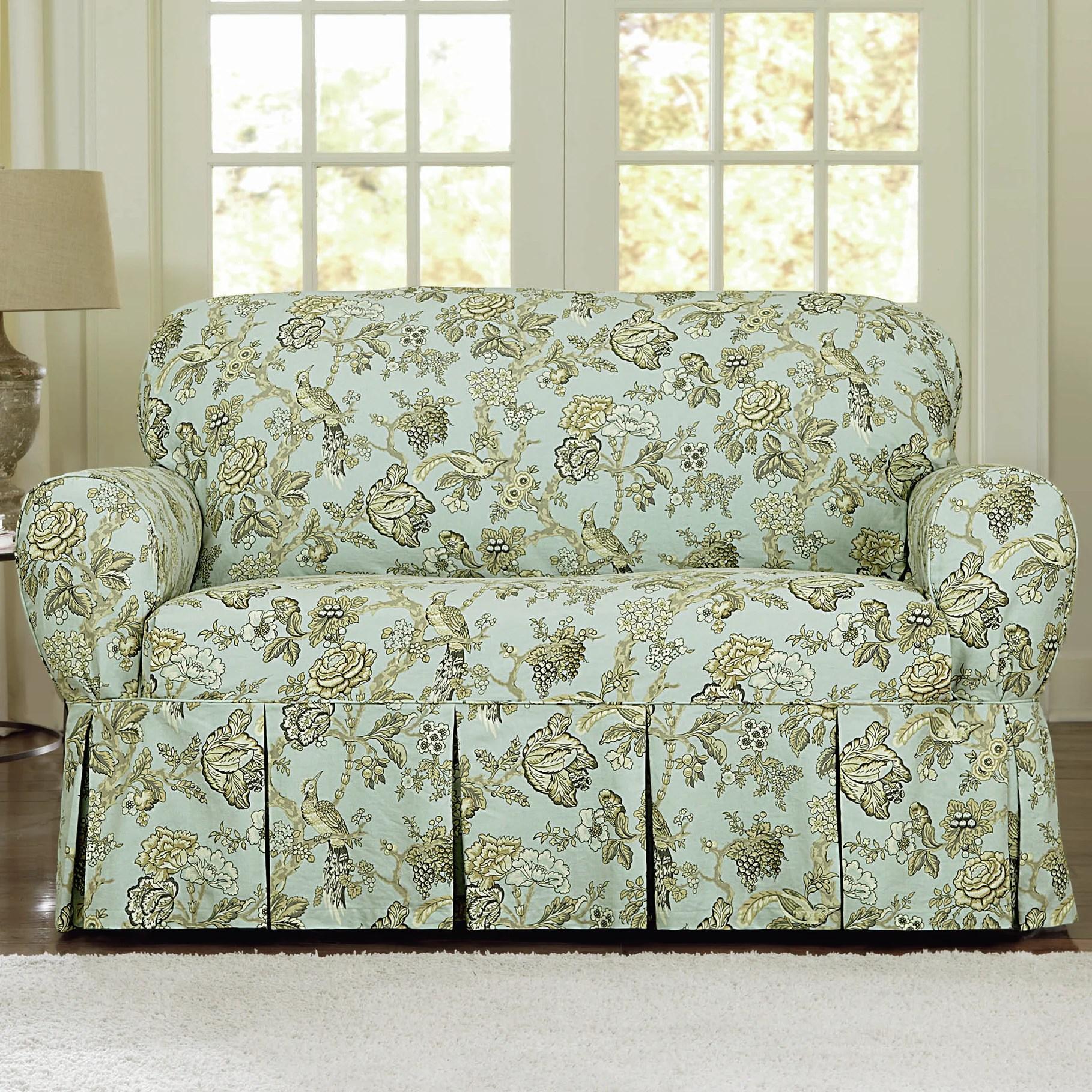 rose sofa slipcover beds at amazon casablanca loveseat wayfair