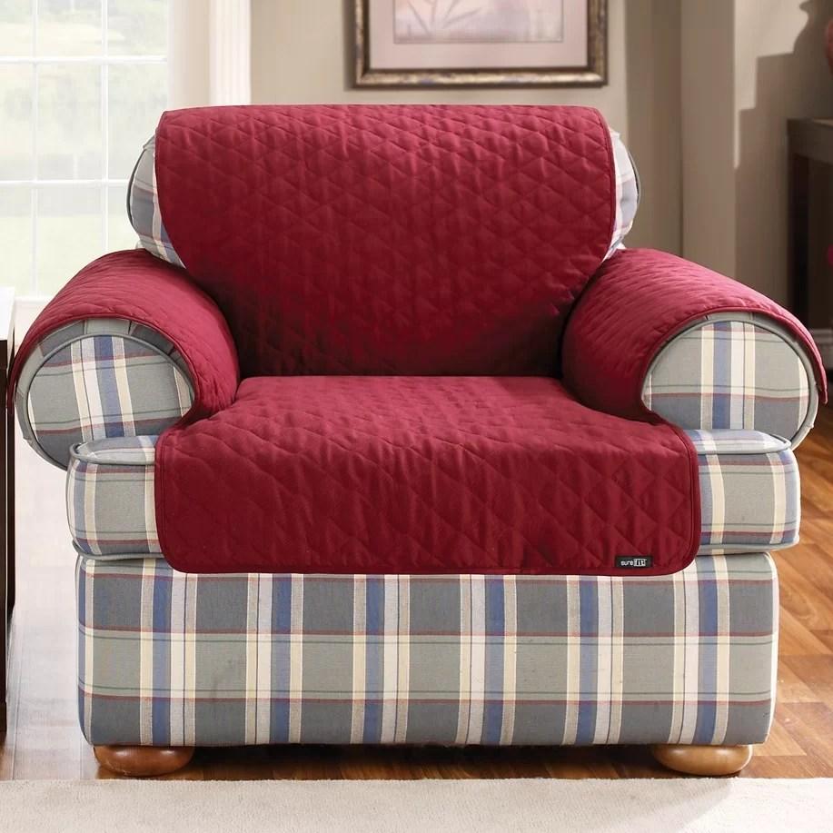Cotton Duck Armchair Slipcover  Wayfair
