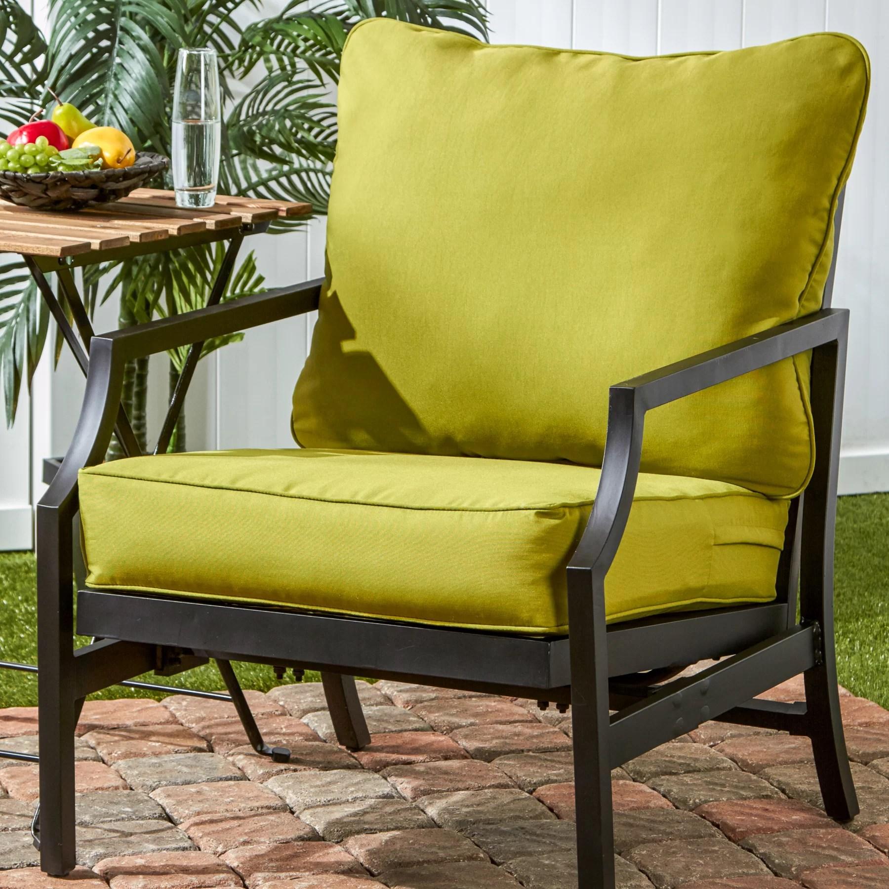 Greendale Home Fashions Outdoor Lounge Chair Cushion  Reviews  Wayfair