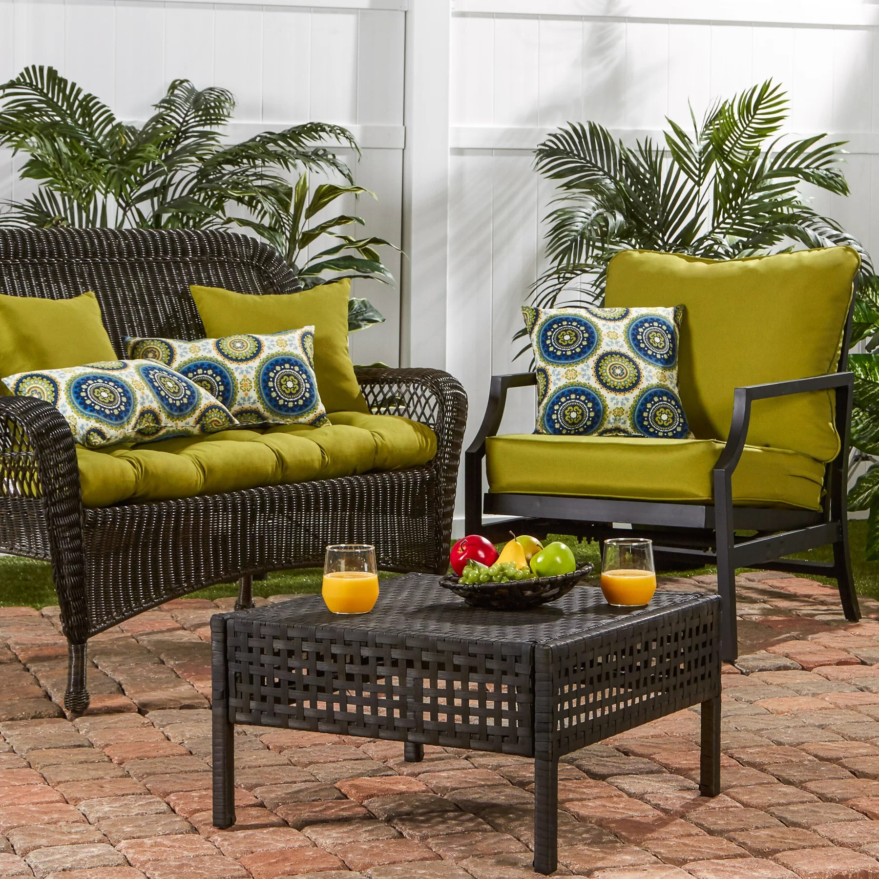 Outdoor Lounge Chair Cushions Greendale Home Fashions Outdoor Lounge Chair Cushion