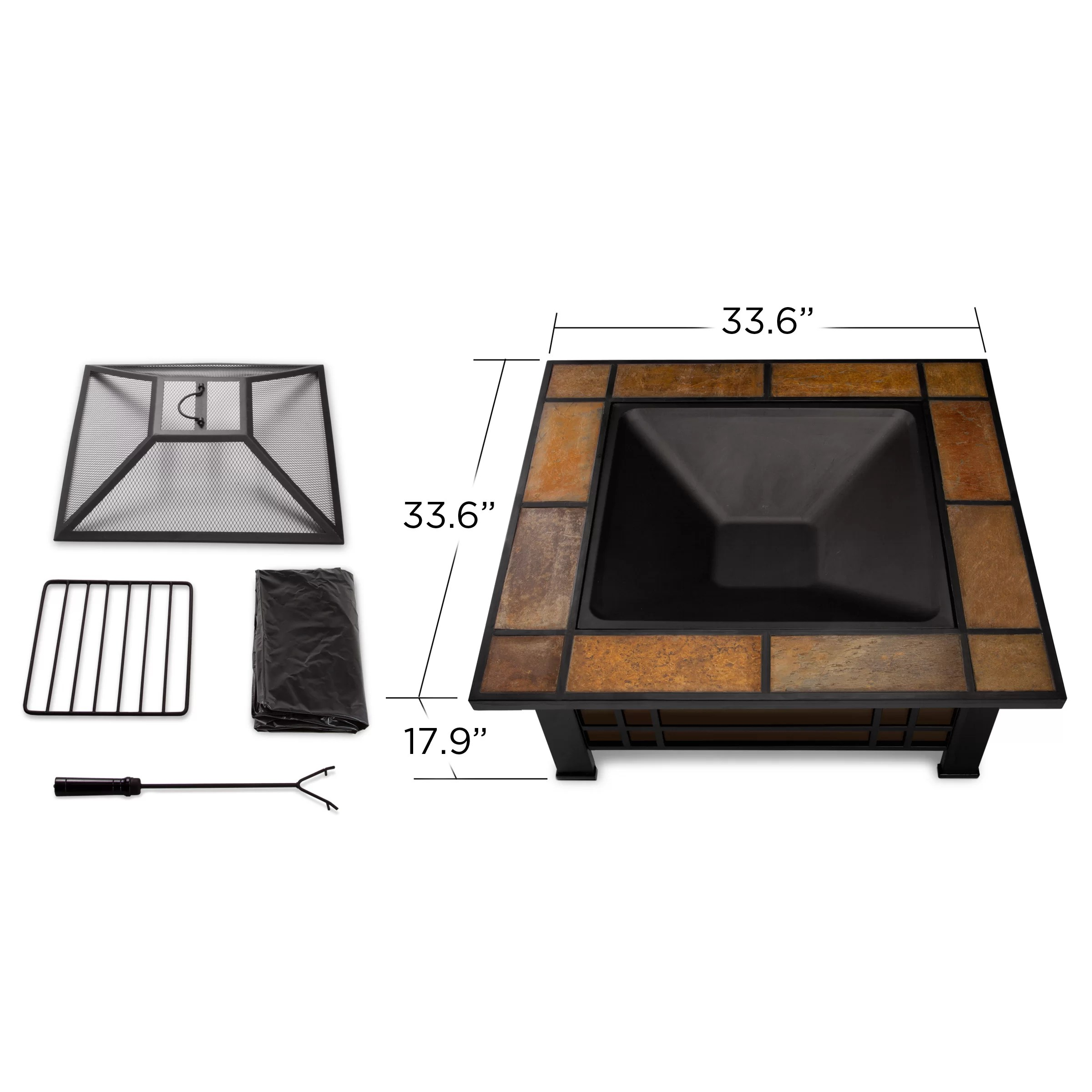 morrisons garden chair covers folding jokes real flame morrison wood burning fire pit table and reviews