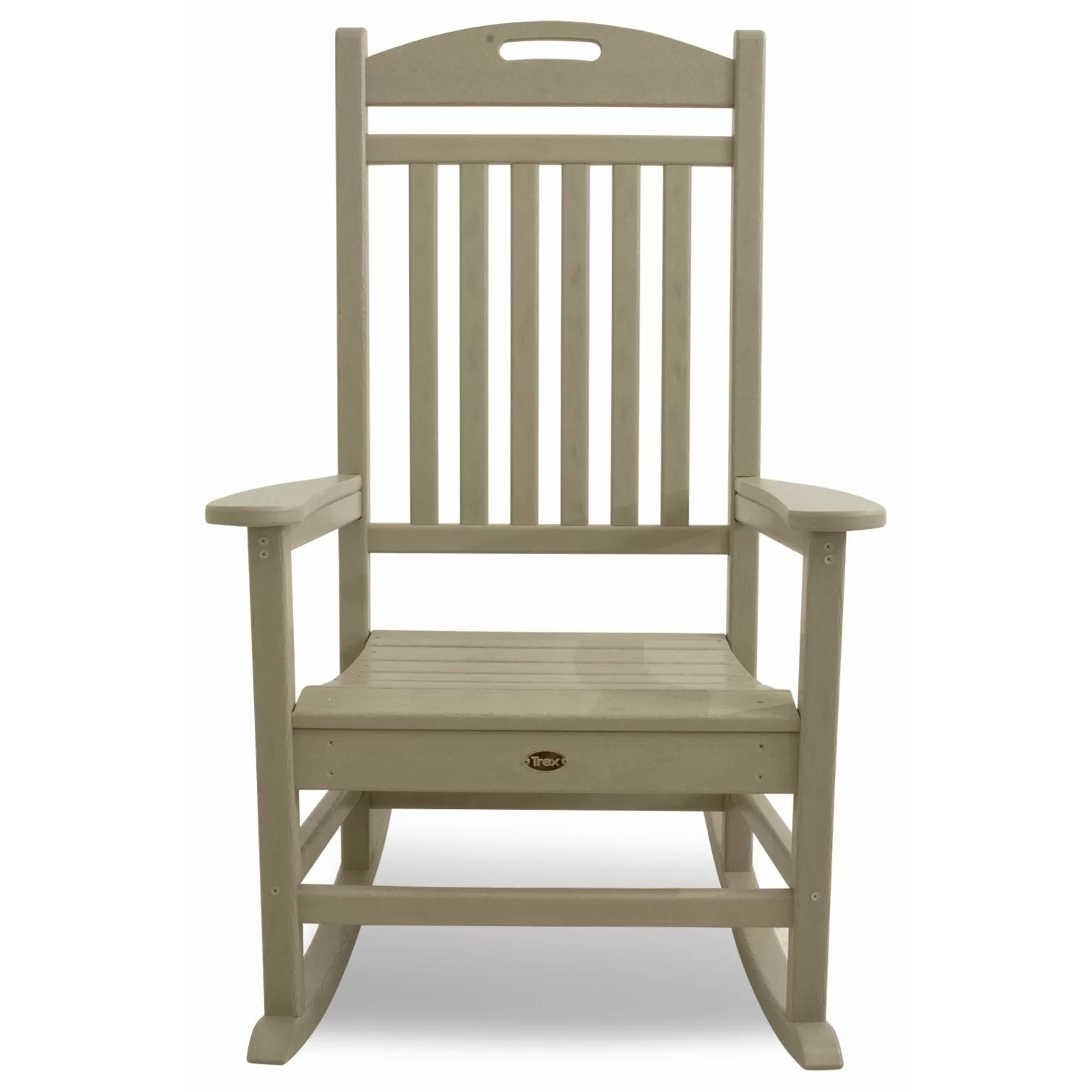 Polywood Rocking Chairs Polywood Yacht Club Rocking Chair And Reviews Wayfair