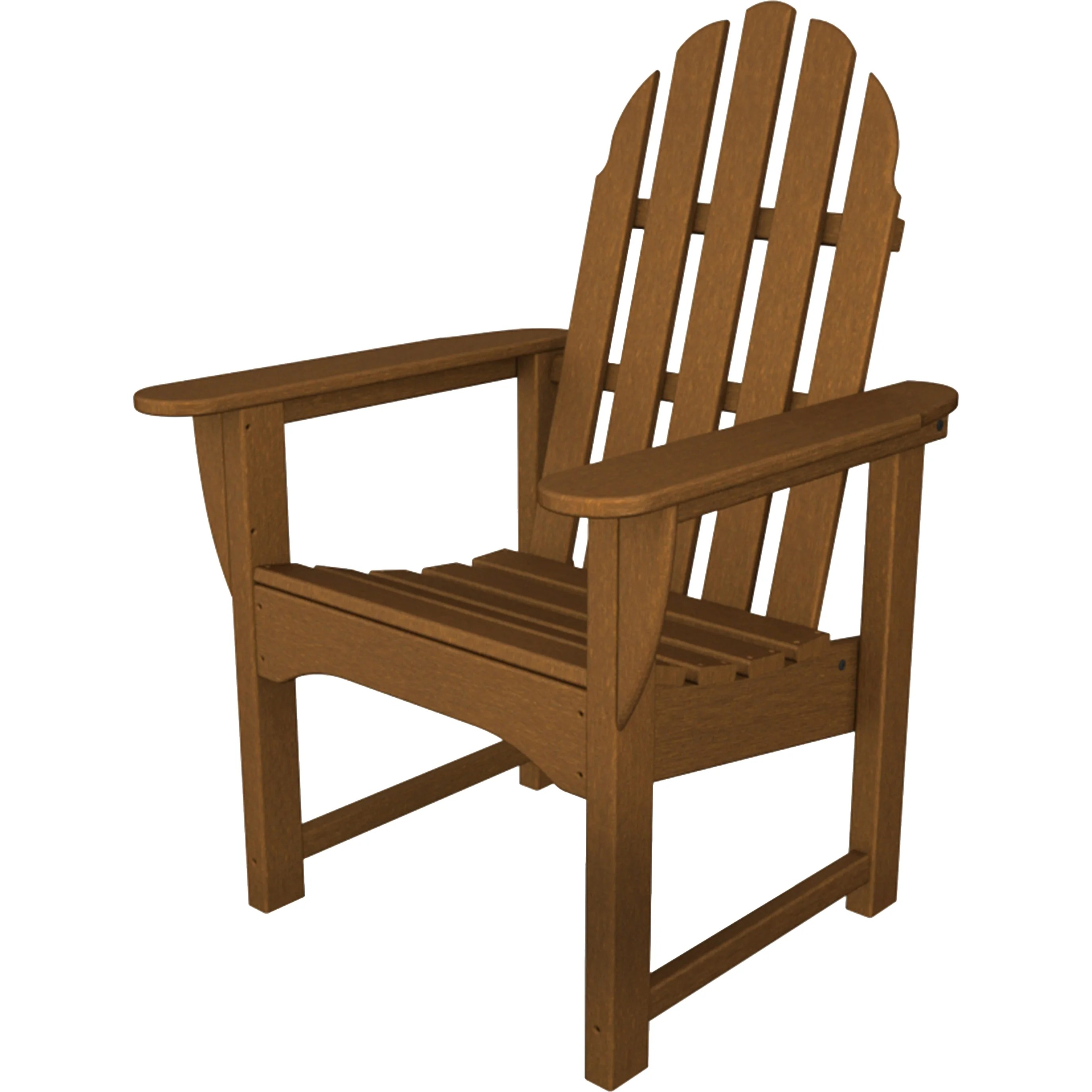 adirondack style dining chairs pyramat wireless gaming chair how to connect polywood arm allmodern