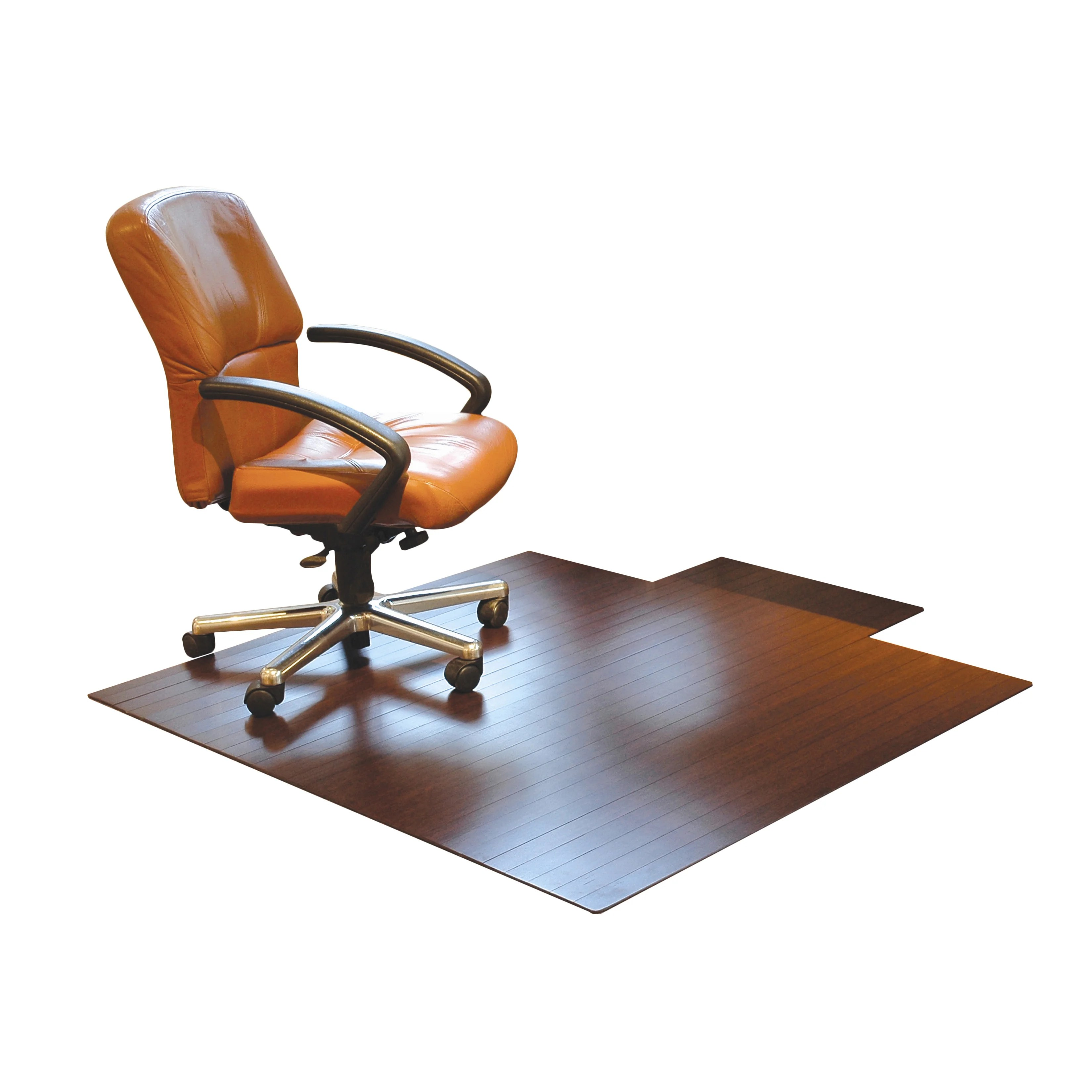 office max hardwood floor chair mat the lounge co chairs low pile and bamboo   wayfair