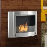 Olympia Wall Mount Ethanol Fireplace | Wayfair