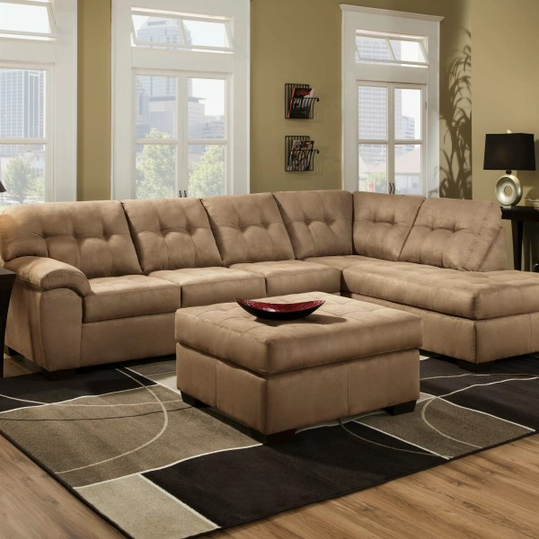 Simmons Upholstery Velocity Sectional &