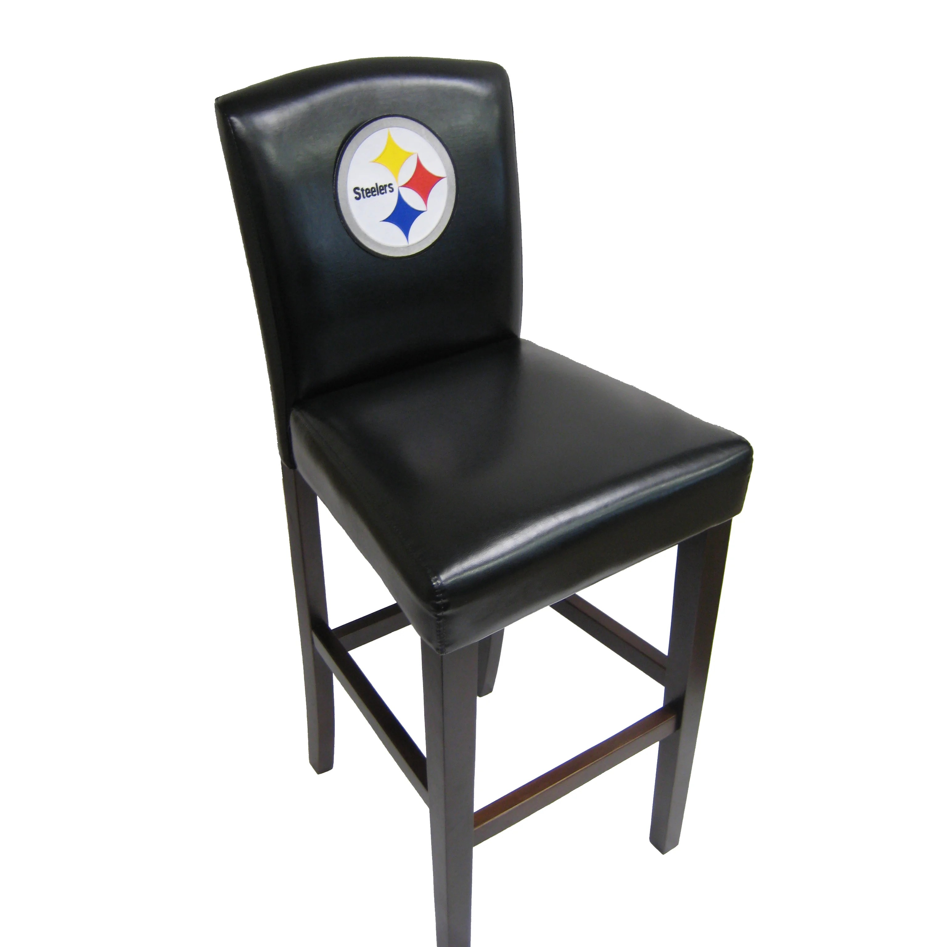 Pittsburgh Steelers Chair Imperial Nfl Bar Stool With Cushion And Reviews Wayfair Ca