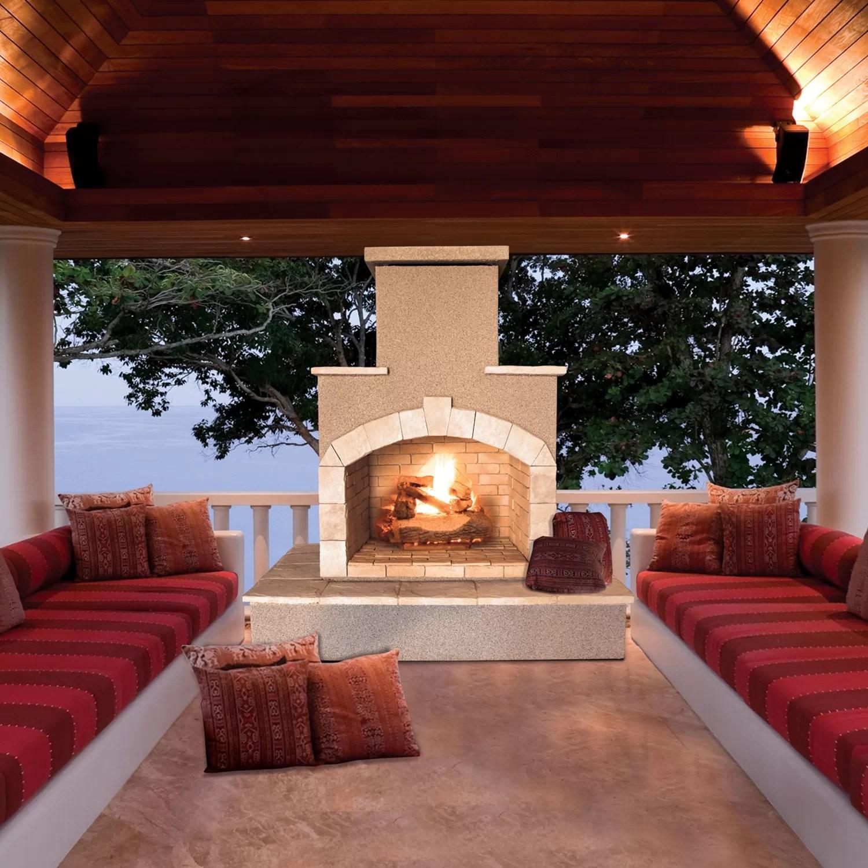Propane Gas Outdoor Fireplace  Wayfair