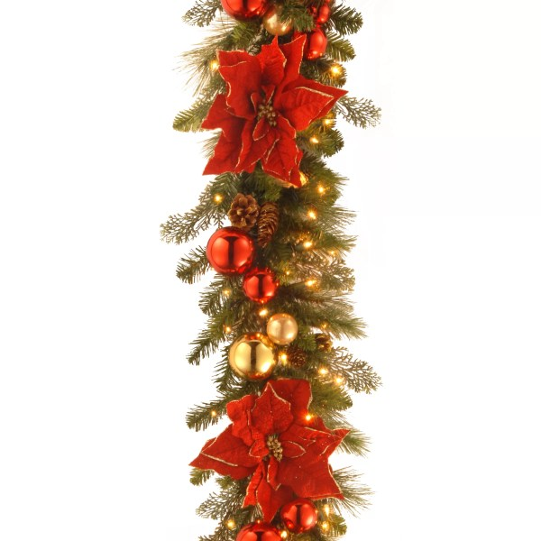 Christmas Tree with Garland