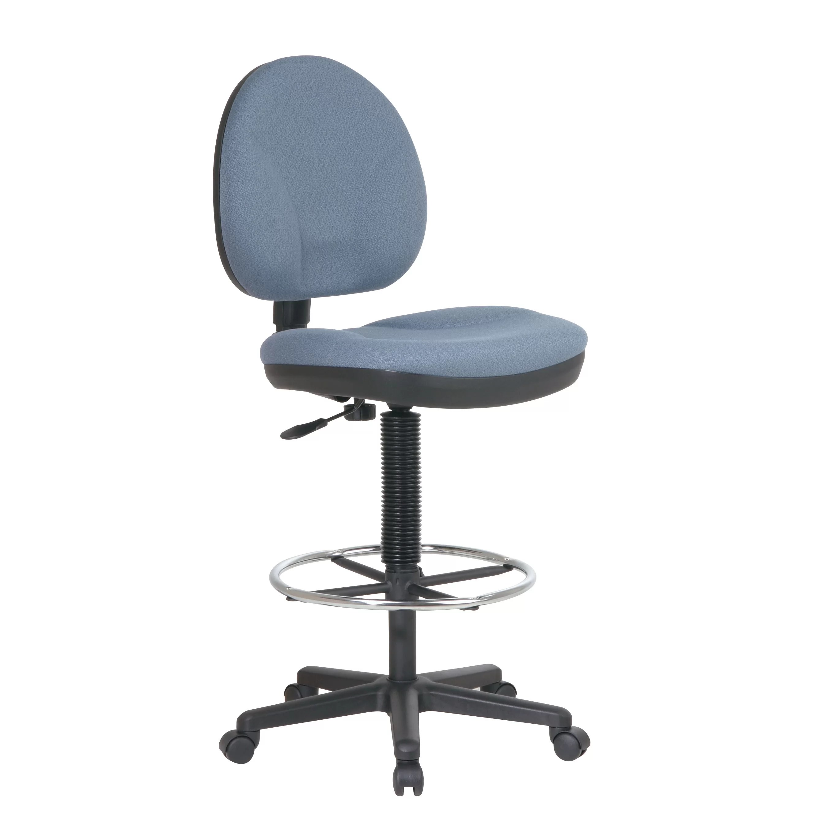 Adjustable Drafting Chair Height Adjustable Drafting Chair With Footrest Wayfair