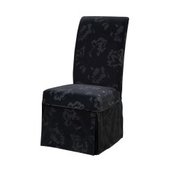 Parson Chair Covers Walmart Pottery Barn Irving Classic Seating Skirted Slipcover Wayfair