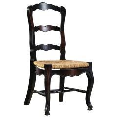 Country French Side Chairs Hanging Chair Pinterest Ladderback Wayfair