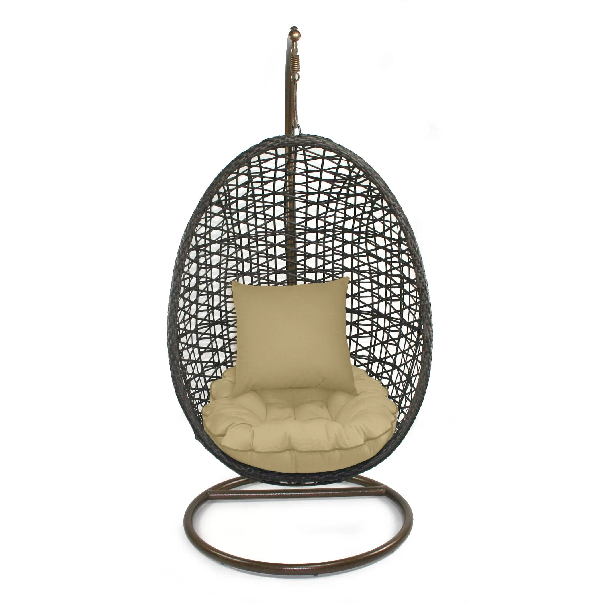 Bird Nest Chair Patio Heaven Skye Bird 39s Nest Swing Chair With Stand