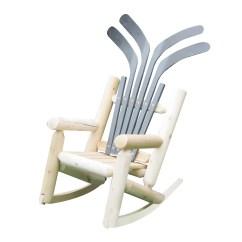 Log Style Adirondack Chairs Chair Steel Reinforcement Children 39s Hockey Wayfair
