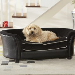 Panache Dog Sofa Armless Sectional Enchanted Home Pet Ultra Plush Large