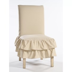 Parson Chair Covers Walmart Cotton Duck Slipcovers For Chairs Skirted Slipcover Wayfair