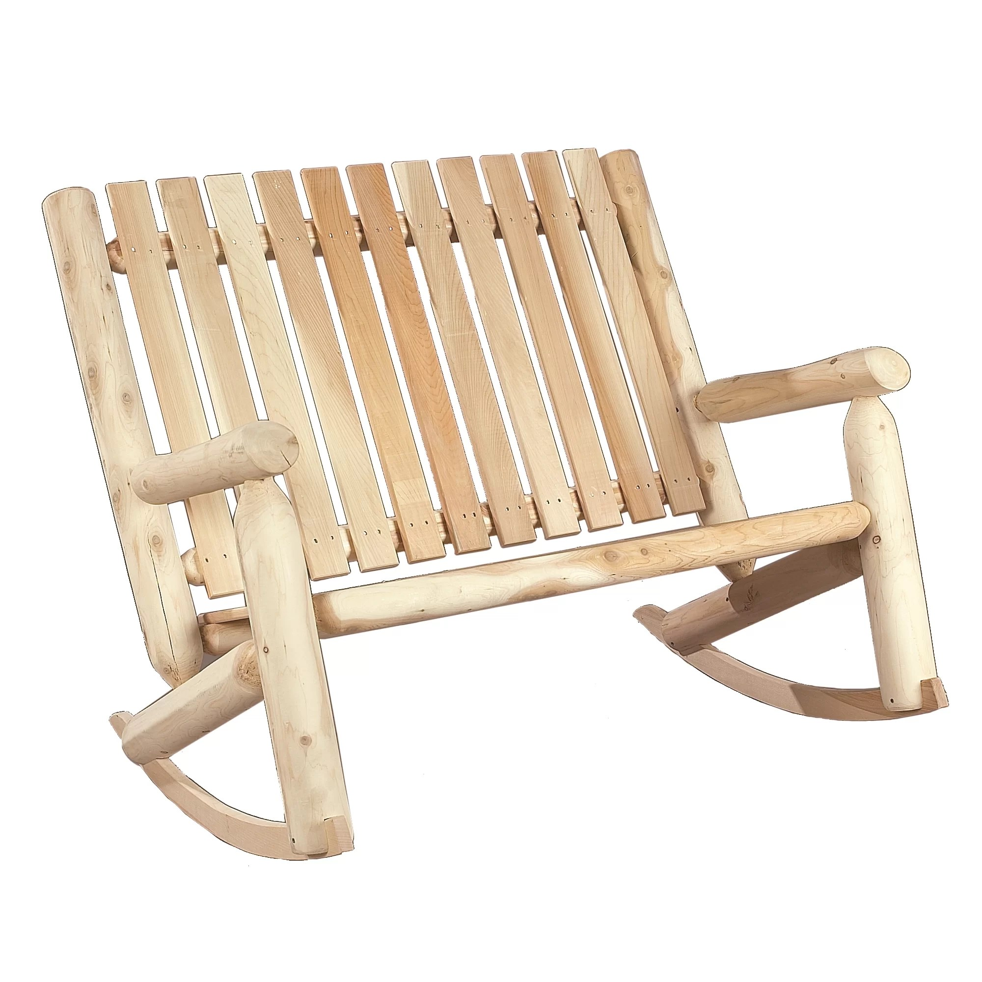 indoor outdoor chairs folding chair measurements cedar double rocking wayfair