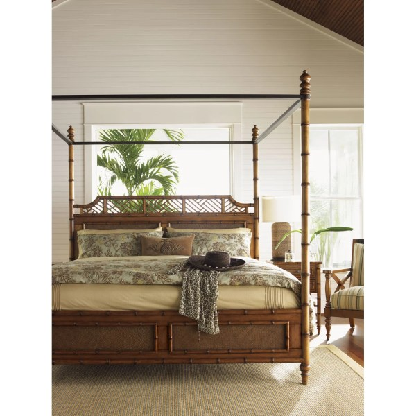 Tommy Bahama Home Island Estates Canopy Bed &