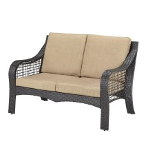 Home Styles Lanai Breeze Loveseat With Cushions &
