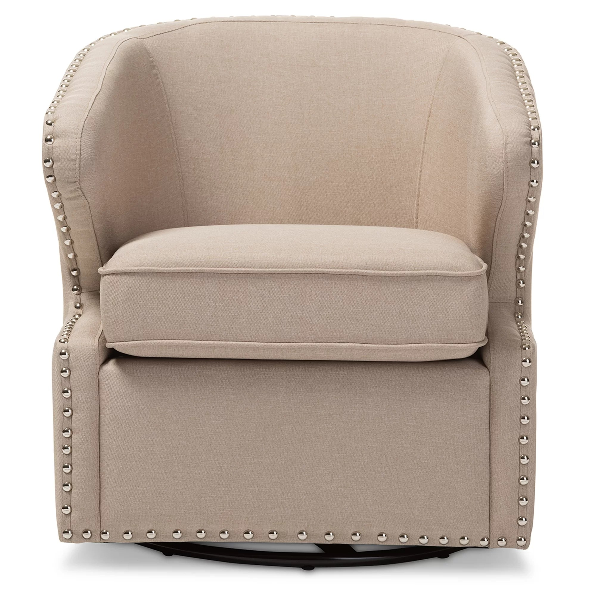 Upholstered Accent Chairs With Arms Wholesale Interiors Baxton Studio Finley Upholstered