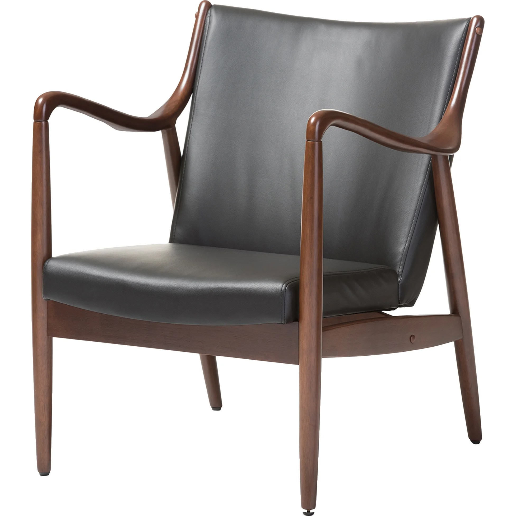baxton studio modern leather accent chair wedding chairs wholesale interiors shakespeare leisure