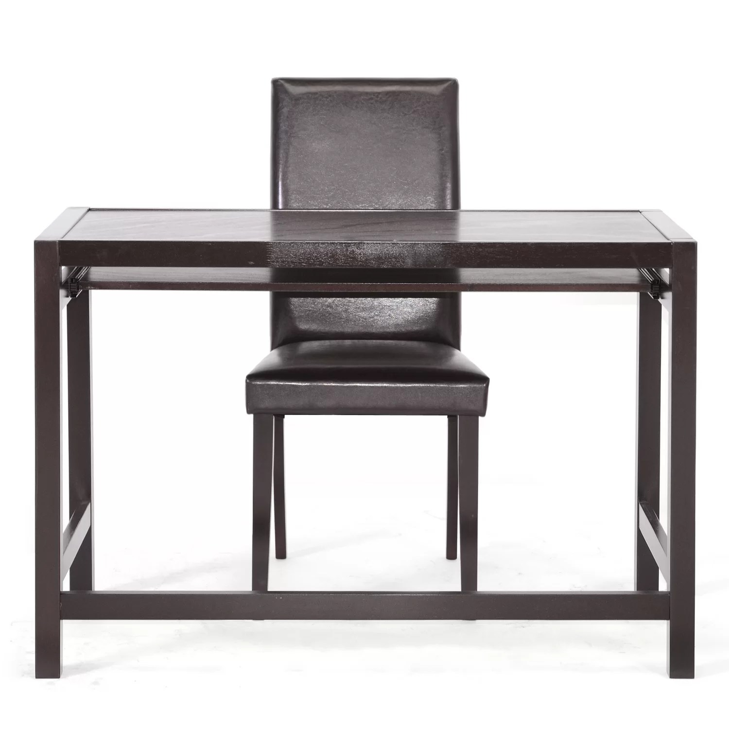 computer desk and chair set poang review baxton studio mesa parson