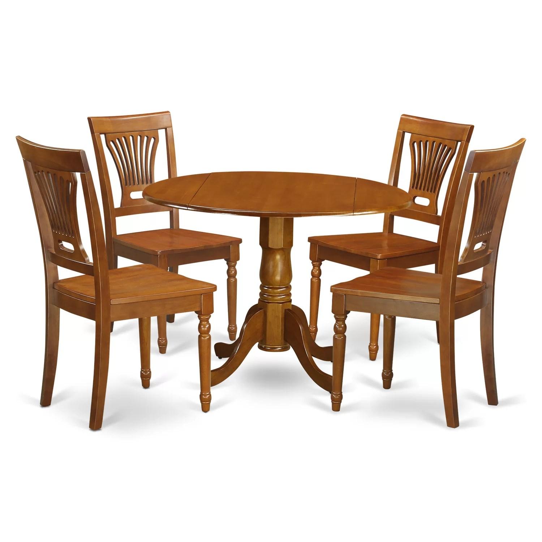 dining table and chairs dublin swing chair jhula 5 piece set wayfair