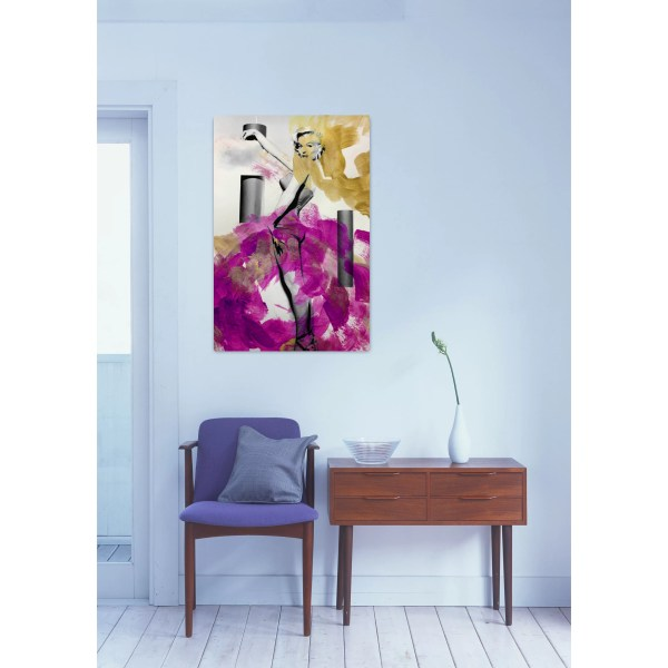 Oliver Gal Stand Graphic Art Canvas