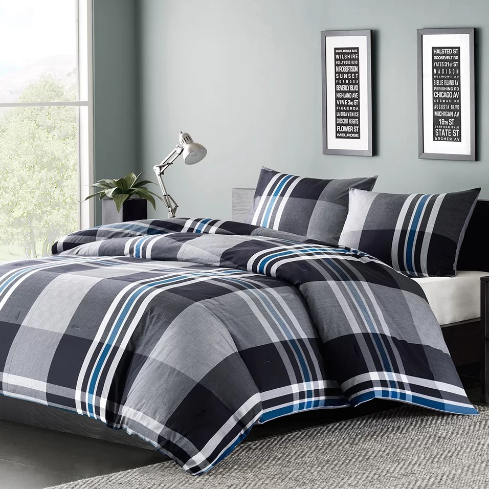 Ink Ivy Nathan Comforter Set Amp Reviews Wayfair