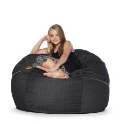 Denim Bean Bag Chair Xpr Fishing 4 39 Wayfair