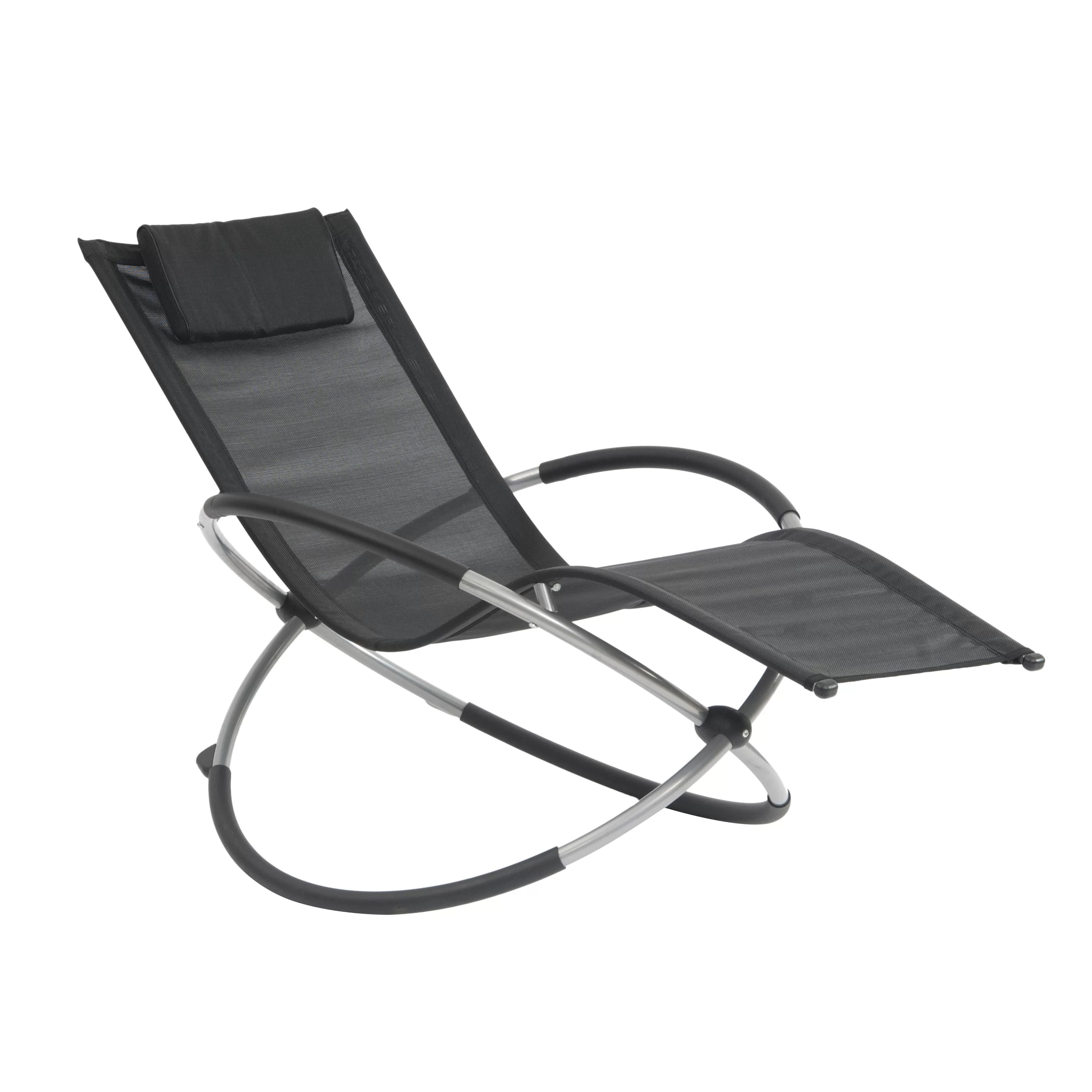 garden relaxer chair covers millennium tree stand suntime outdoor living orbit chaise lounge