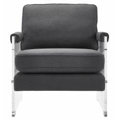 Acrylic Arm Chair Vector Design Serena Floating Lucite Wayfair