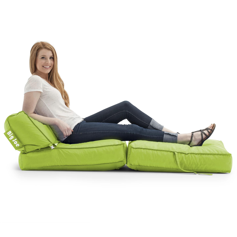 big joe roma lounge chair turquoise slipcover flip bean bag lounger wayfair