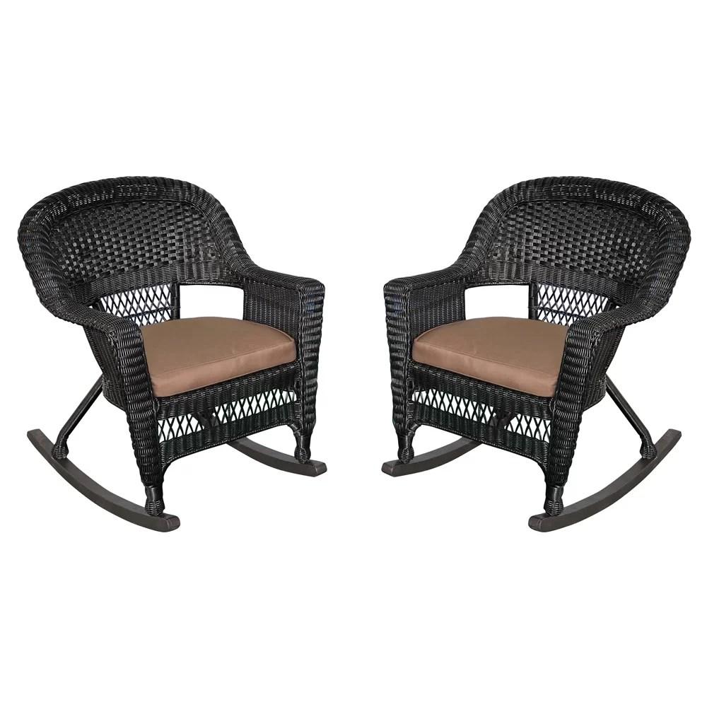 Wicker Rocking Chair  Wayfair