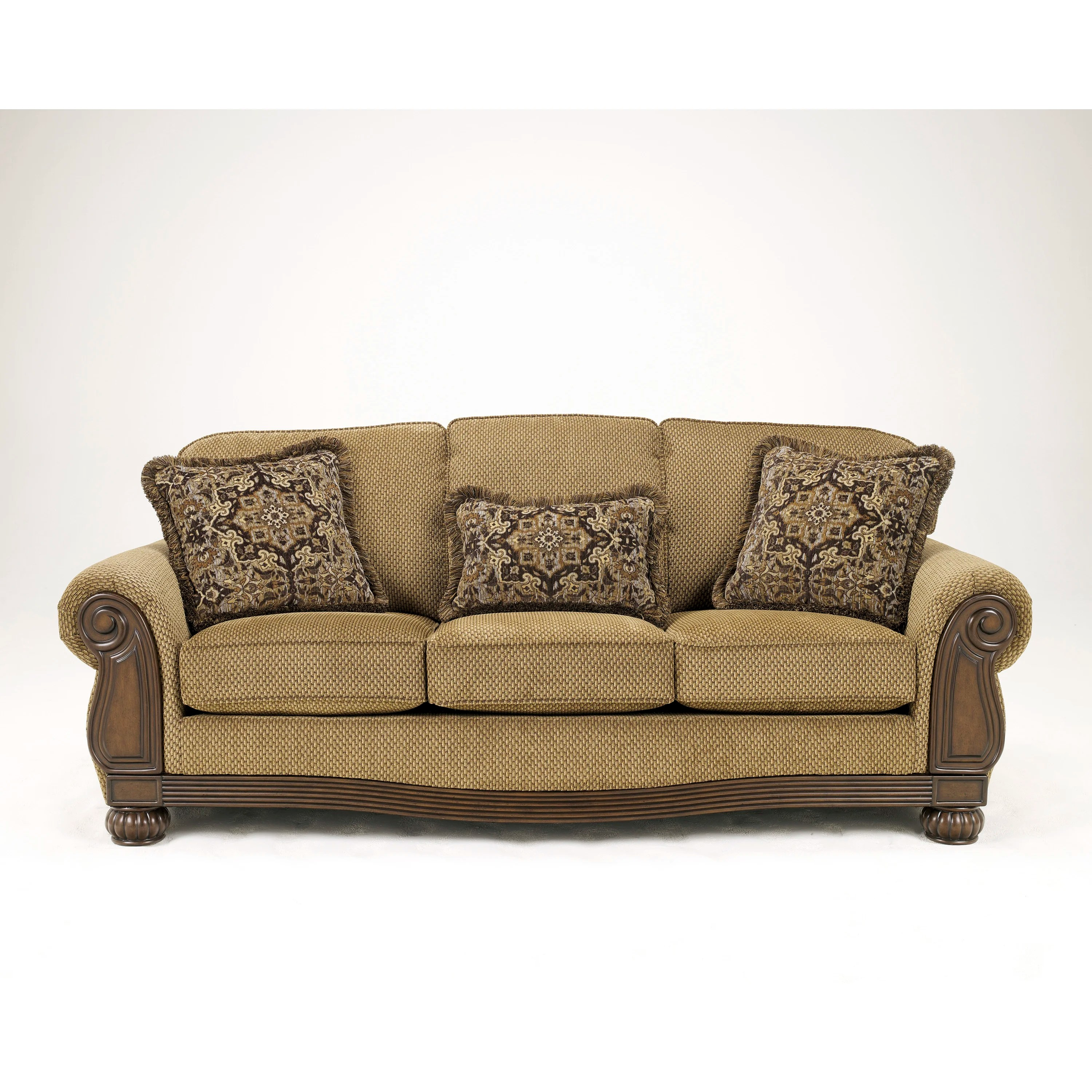 signature design by ashley harvest sleeper sofa living room sleepers taylor and reviews wayfair