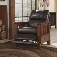 Chair Covers Next Day Delivery Teak Lounge Cushions Signature Design By Ashley Caro High Leg Recliner & Reviews | Wayfair